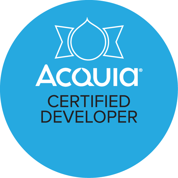 Drupal Certified Developer