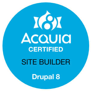 Drupal 8 Certified Site Builder
