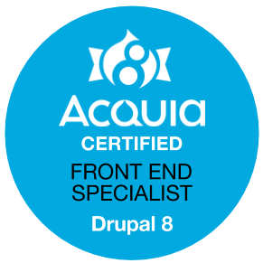 Drupal 8 Certified Front End Specialist
