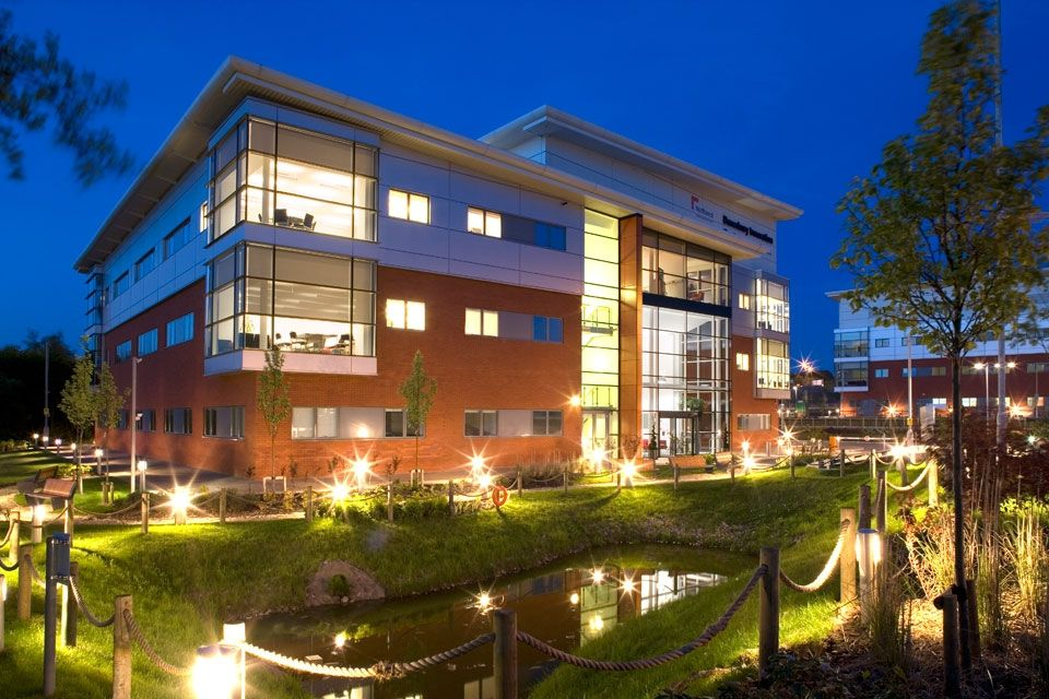 Innovation Centre office in Daresbury
