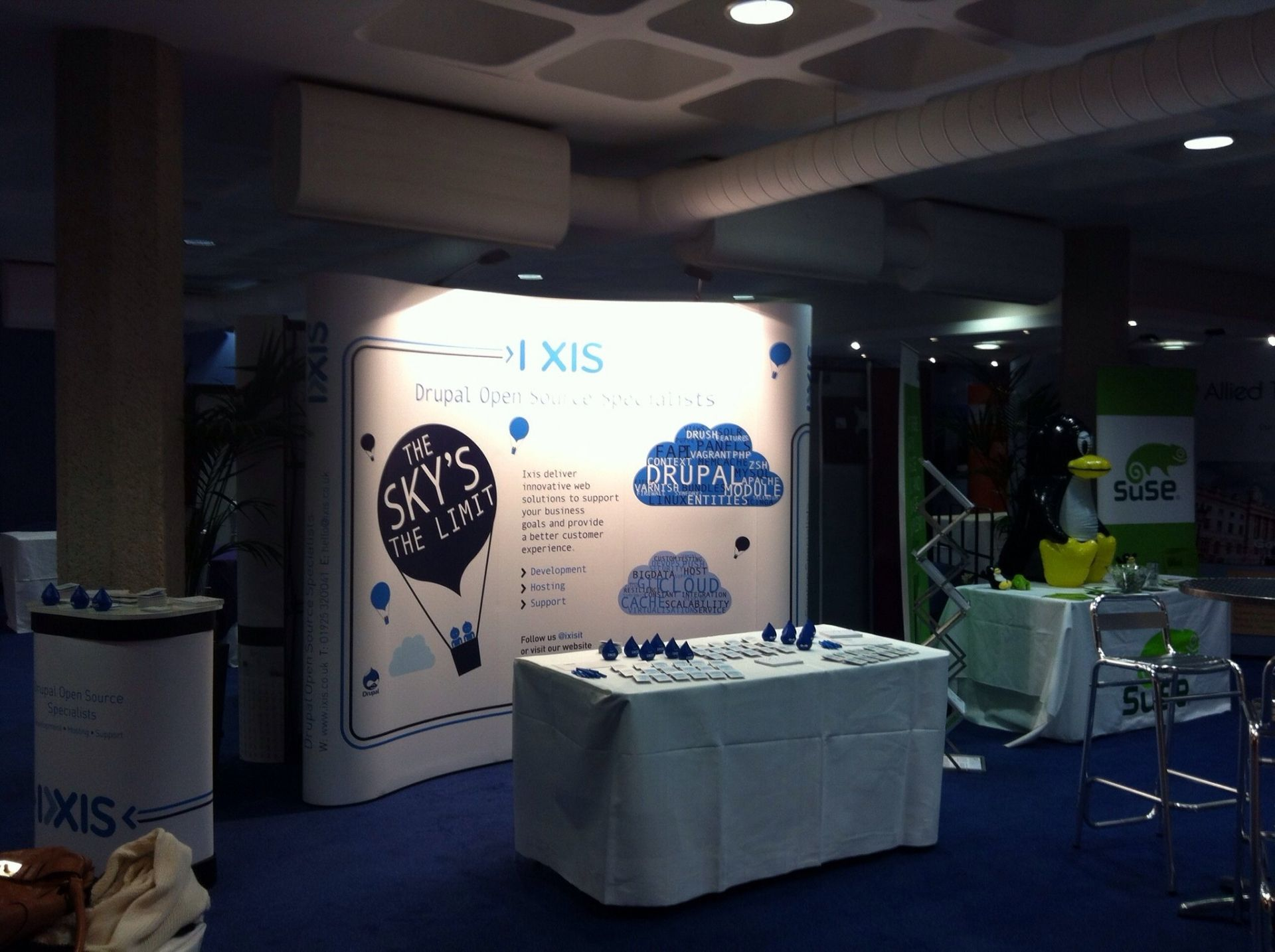 Public Sector conference exhibiting