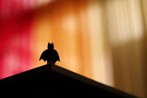 Batman silhouette by Ali Kokab on Unsplash