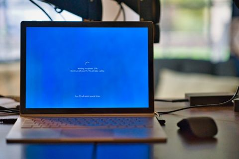 client patterson unsplash photo of laptop with loading screen
