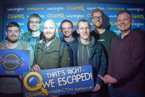 The Escapees at ClueHQ!