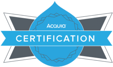 Acquia Site Builder Certification - Drupal 8