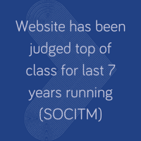 Judged as top class website 7 years running